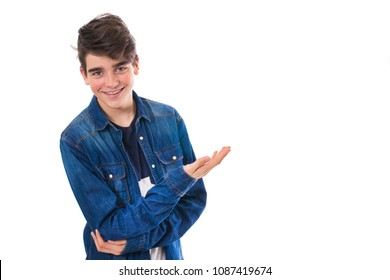 portrait of an isolated teenager with expressions