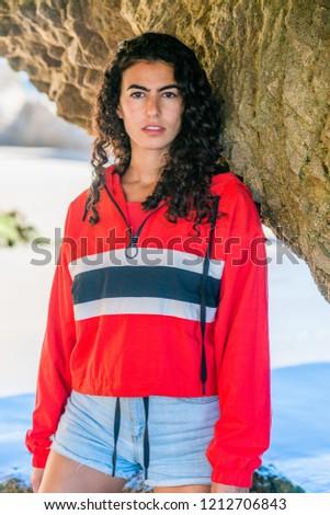 Curly latino