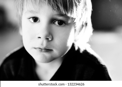 portrait of a little boy