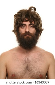 Man Shaggy Hair Images Stock Photos Vectors Shutterstock