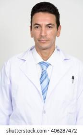 Portrait of man doctor