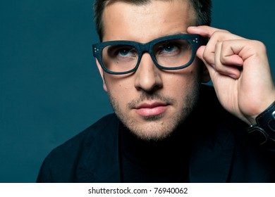 Weird Dude With Glasses 5