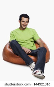 Sitting On Bean Bag Images Stock Photos Amp Vectors