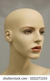 Portrait of a mannequin