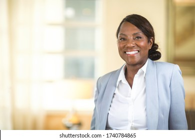 Porträt einer reifen Afroamerikanerin