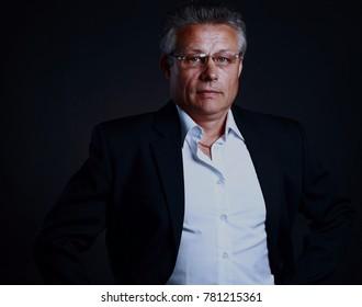 Portrait of a mature business man
