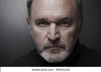 Portrait of mature man fifty years