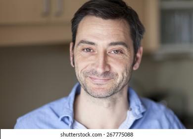 Portrait Of A Mature Spanish Man