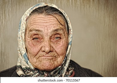 Old russian mature