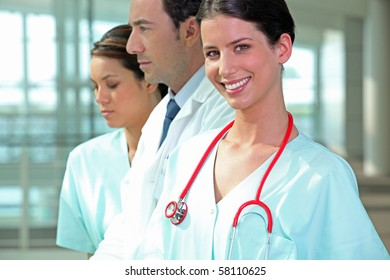 Portrait of a medical assistant