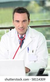 Portrait of a medical professional