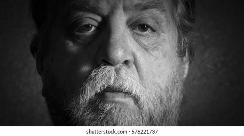 Portrait Of middle aged caucasian Man