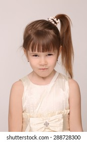 Stupendous Royalty Free Little Girl Ponytails Stock Images Photos Vectors Natural Hairstyles Runnerswayorg