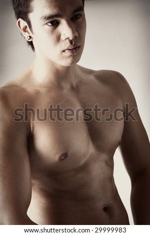 Nude indonesian man