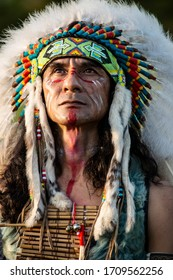 portrait Native American or American Indian Indigenous peoples of the Americas