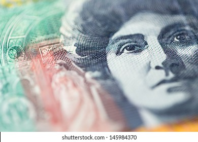 Portrait of Nellie Melba on one hundred australian dollars note