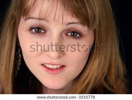 9fe69e64c0bd Portrait Nice Looking Young Woman Stock Photo (Edit Now) 3210778 ...