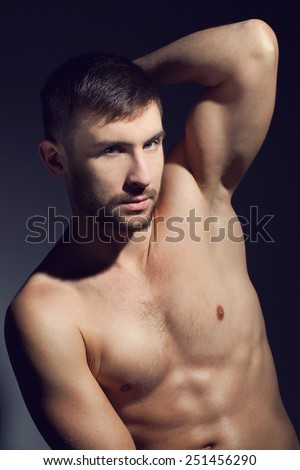Fitness male nude