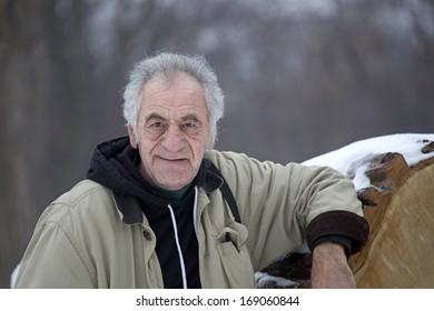 portrait of an old italian man
