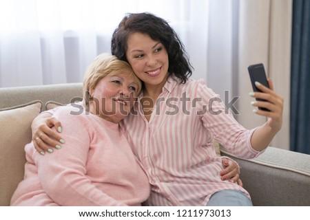 Old mature mom