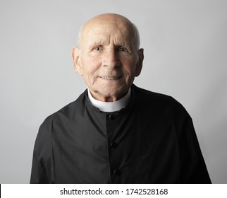 portrait of a old priest