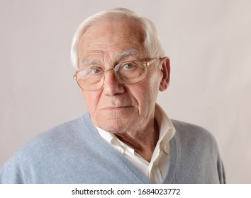 portrait of a old white man