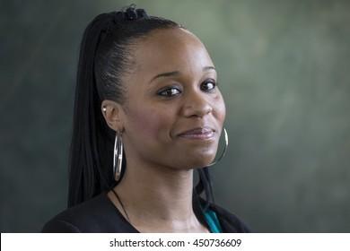 Portrait of a proud, black female teacher