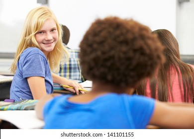 Portrait Of Pupil In Class