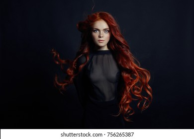 Pregnant redhead unshaved