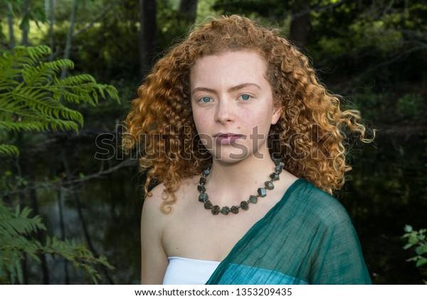 Gorgeous Redhead Teen Facial