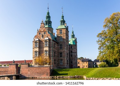 Portrait of Rosenborg Castle in Copenhagen