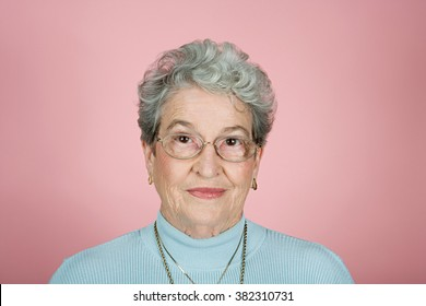 Portrait of a senior adult woman