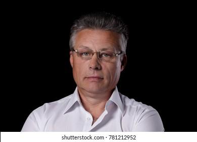 portrait of senior business man
