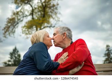Portrait of senior couple.