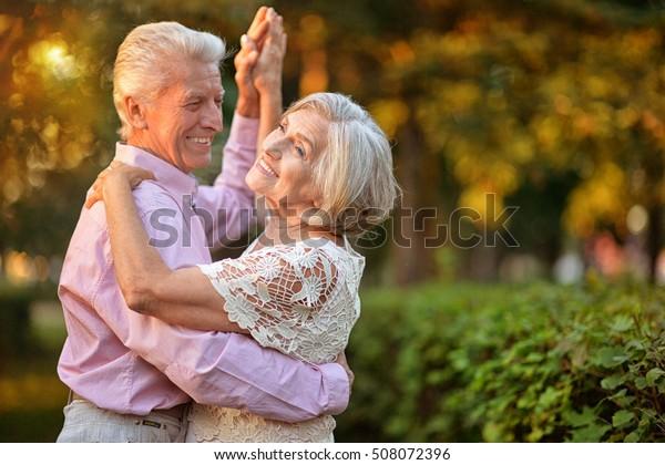 portrait d'un couple âgé