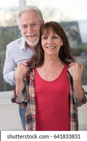 Portrait of a senior couple happy to be together
