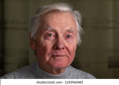 Porträt des Senioren.