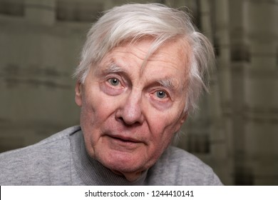 Portrait of senior man.