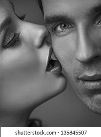 Portrait of a sensual couple