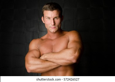 Portrait of sexy mechanics.