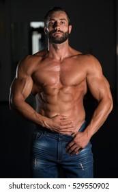 Tall Muscular Man Stock Photos Images Photography Shutterstock