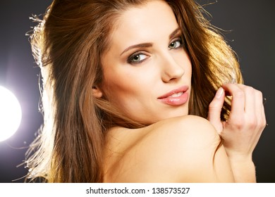 Portrait of sexy woman