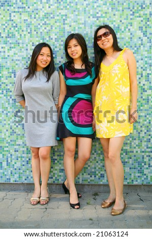 Asian girls group 11