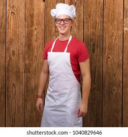 Portrait Of Smiling Chef, Indoor