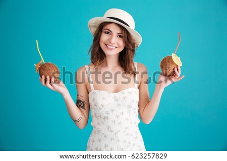 839377b57 Portrait Smiling Happy Young Woman Traveler Stock Photo (Edit Now ...