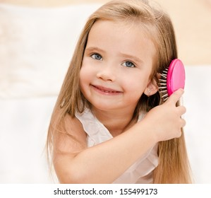 Child Combing Hair Images Stock Photos Amp Vectors