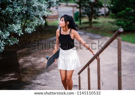 Und Zu junge asiatische Mädchen Mädchen Sport