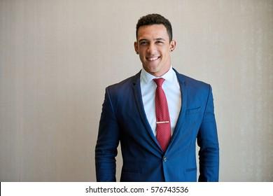 Image Men Wearing Navy Suit Images, Stock Photos \u0026 Vectors