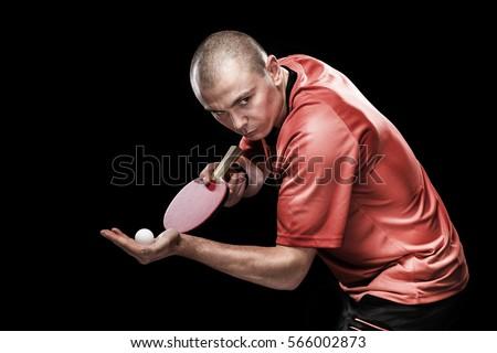 Portrait of sports man
