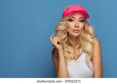 Portrait of sporty girl
